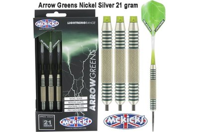 Mc Kicks Nickel Silver - Arrow Greens 21 gram
