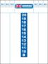 Winmau-Schrijfbord-40x60
